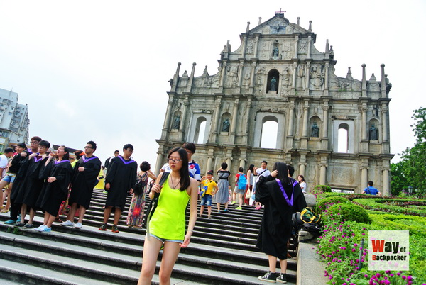 Ruins Of St.Paul Macau